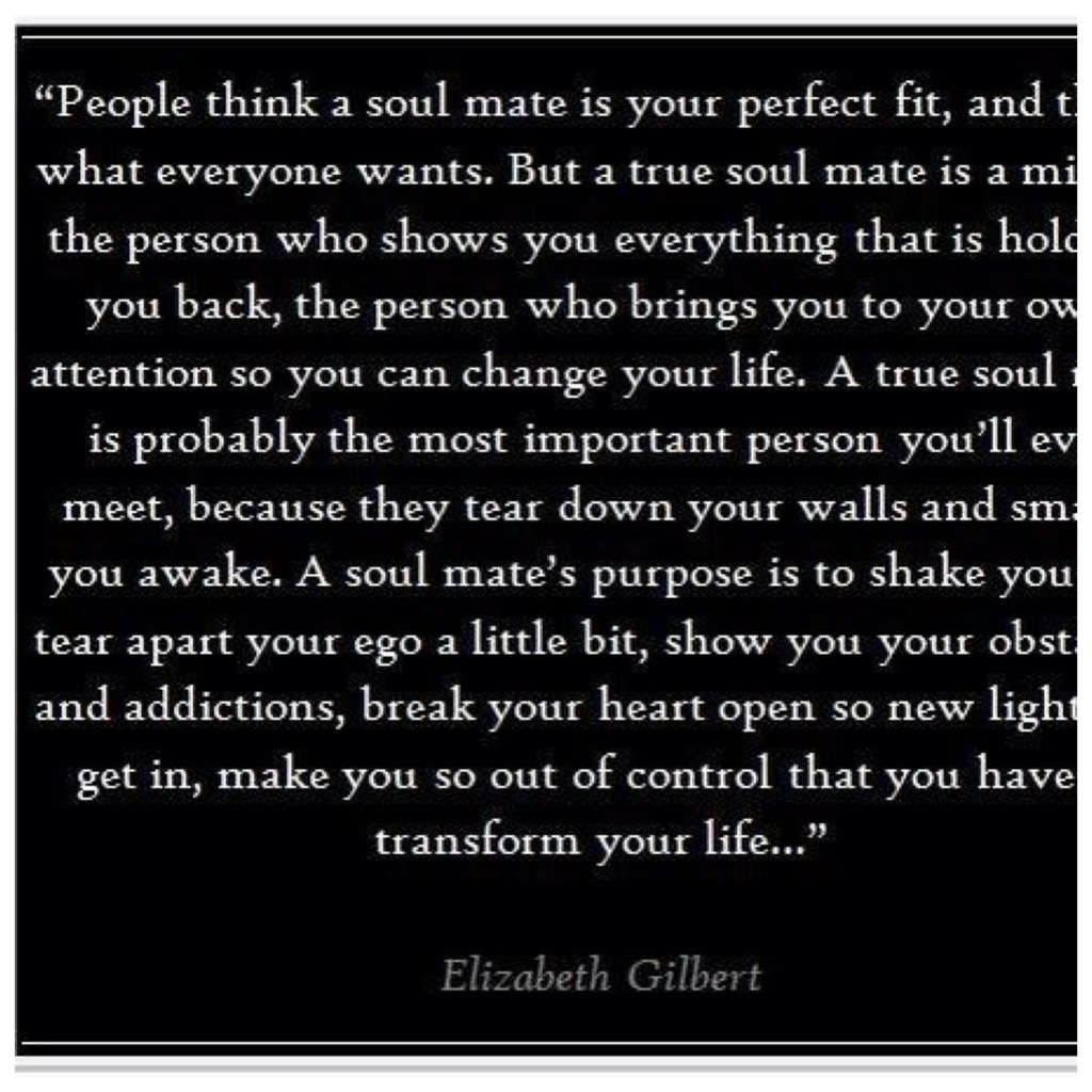 Profound Quotes About Love Quotes About Soul Mates  Closer To Lola