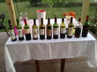 All the reds we tasted