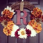 Fall 2014 Door Wreath
